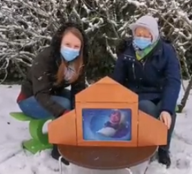 lecture sous la neige2